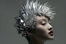 Hair is art! / Unique and creative designs.