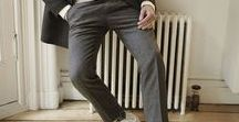 Editor's Picks - Wool Trousers / Luxurious and soft, these trousers come in all  different styles to dress up or down.