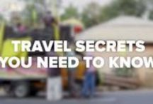 Travel Tips / Tips to make your travel a more pleasant experience.