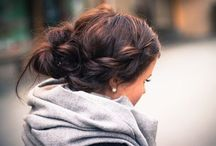 Hairstyle - Messy Buns / Inspiration for messy buns