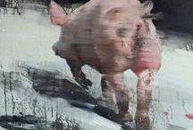 Animal art heroes