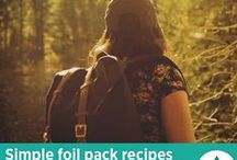 Foil Pack Recipes / Simple foil pack recipes to take on your next camping adventure!