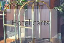 Hotel Carts / I love #Hotel Carts. During my travels and when I stay at hotels, I always look for them. Do you like to #travel? :)