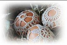 Crochet eggs / Haken. Zo leuk een paasei omhaken