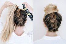 EASY How to hair tips / Easy quick tips for you to do at home.