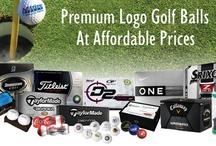 Logo Golf Balls / Make your tournament a success with custom logo golf products. AdMotions can provide everything from name brand golf balls to embroidered brand name logo wear to make your organization stand out from tee to green.