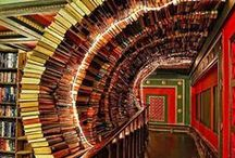 Book Shelf Envy / We wish we could have libraries like these!