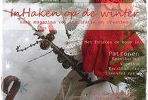 Inhaken op de Winter magazine / Inhaken op de winter Magazine vol haakpatronen, inspiratie & creaties voor de gezellige winter maanden