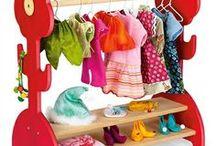 Poppen-, barbiekleertjes en accesoires