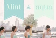 weddings / Mint and aqua  / by Danielle Ervin