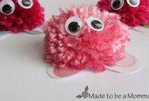Kreative børn / Crafts for kids