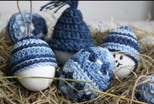 Voorjaar / Pasen / Leuke ideeën en patronen om te haken voor de lente en Pasen http://haak-in.blogspot.nl
