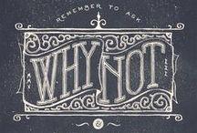 Graphikdesign | Illustration | Typographie / Interessante, coole, clevere oder einfach schöne Designs.
