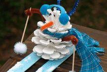 Kreative børn - vinter/jul / Crafts for kids - Winther/Christmas
