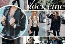 Rock chic Stijl / Stoer, rock maar chique