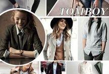 Tomboy Style / Mannelijke mode voor vrouwen.