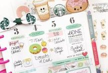 Planner: MAMBI/Happy Planner Layouts / Stunning Layout for MAMBI and Happy Planners. Great inspiration to stay organised