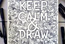 Aprendiendo a dibujar / Instructions  for draw like a Da'Vinci !! :D    Instrucciones para poder dibujar como un Da'Vinci !! :D