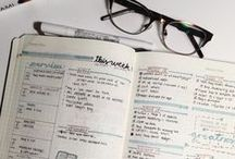 Planners, Planners, Planners / A collections bucket journal ideas and inspirations for layouts