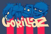 Gorillaz / The best band in all the existence of the world!!!  La mejor banda en la existencia del mundo!!!