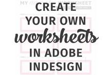 Create your own printable's