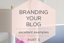 Branding Tips For Bloggers & Small Biz / Branding Tips and Tricks for those who are just started or need a fresh outlook on things
