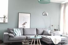 Living Room Decor / Grey and Turquoise Living Rooms to drawl over1