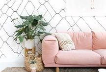 Inspiration// Geometrics / See how you can incorporate geometric shapes into your home...