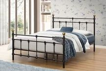 Birlea Metal Beds / The main focus point of any bedroom, make sure you make the right choice from Birlea's best range to date.  Full details available at http://www.birlea.com/shop/beds/material/metal-beds
