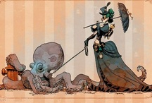 Steampunk sizzles! / Scouring the web, sourcing sizzling steampunky goodness!