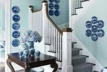 Blue & White / One of Summer 2014 biggest trends is mixing blue with white for that perfect beach cottage feel. Take a look at the pins we have found that inspire us and check out our website for products that would fit this colour palette perfectly www.birlea.com