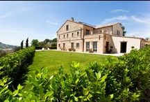 Casa Leopardi on Estate Giacomo Leopardi- Montefiore dell Aso / Pictures of our second project, Casa Leopardi. 450m2 country house with pool, tennis court and stunning gardens and views.