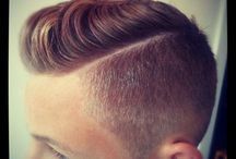 Mens hair / Pride, power, confidence all starts with hair.