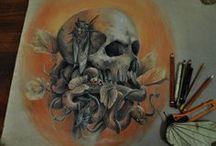 HORROR ART / Pinturas,ilustraciones y arte en general