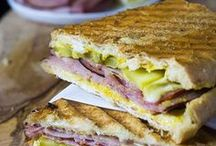 Panini & Sandwich Recipes / The best healthy and easy panini sandwich recipes.  Recipes from kid friendly to more gourmet options.