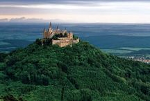 D E U T S C H L A N D / Tyska byar och slott.