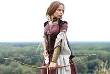 Fantasy Costumes / A plethora (and almost random) collection of clothing, fabric, dresses, and apparel to inspire ideas for fantasy costumes.
