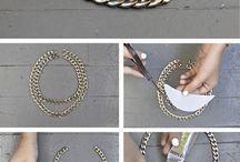 DIY idea necklace / Make your necklace
