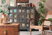 Bohemian Style Furniture / An eclectic mix!