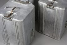 Industrial & Rough Luxe Furniture / Industrial items that are authentically worn with age or have been appropriately upcycled to enable their use in a modern domestic or commercial environment