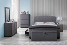 Birlea Sorrento Bedroom / Inspired by classic design, the Sorrento bedroom collection complements both our Castello and Barcelona beds. This range incorporates soft grey materials and beautiful handle detail.