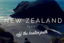 New Zealand / Camper van + hiking