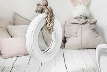 ▿ ▿ ▿ k i d s  r o o m / Blush and Grey kids room styling and inspiration.