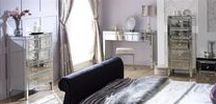 Valencia Bedroom Collection / Add a shine to any bedroom with the Valencia Bedroom Range from Birlea