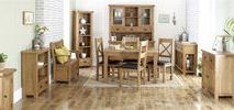 Malvern Dining Room Ideas / Add a warm rustic look to your dining room with the Malvern Occasional Range from Birlea.