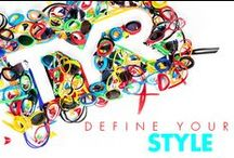 DEFINE YOUR STYLE  / TYR CUSTOM allows you to design your very own pair of goggles  / by TYR SPORT