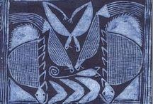 Art textile-Boros-imprimés et plus / by Cath DD