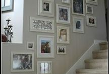 Homemade pictures and picture galleries / Ideas for hanging up pictures