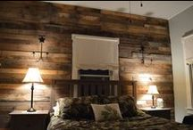 DIY - pallet wall - paletowa ściana