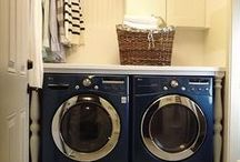 {INTERIOR OF THE LAUNDRY ROOM}